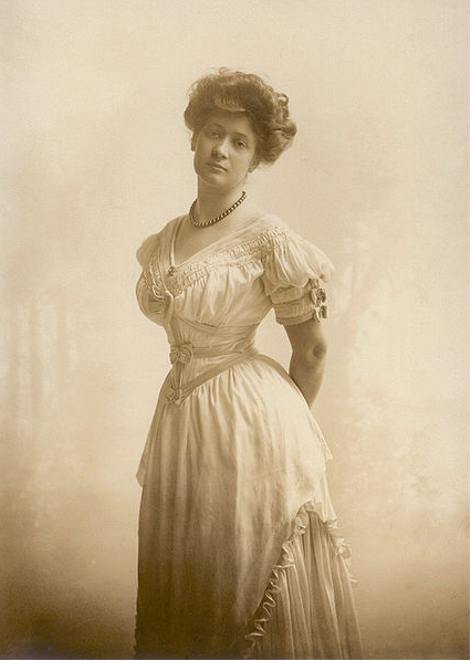 Photo of Ima Hogg of the Cotton Palace in Waco Texas