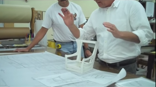 Video of chair construction