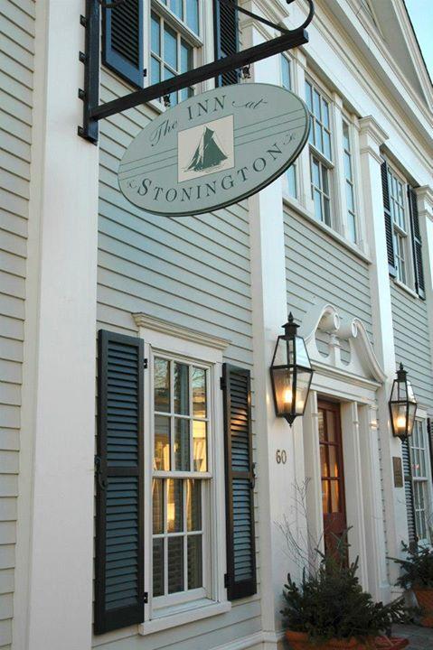 The Inn at Stonington sign