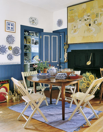 Alexandra Blue & White kitchen