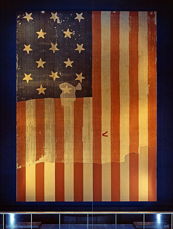 15star, 15 stripe star spangled banner