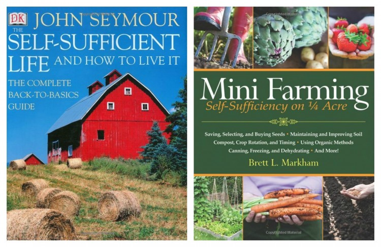 FARMING BOOKS Collage