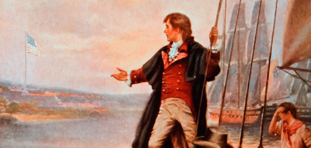 Francis Scott Key painting of inspiration