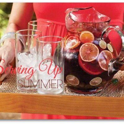 Summertime Entertaining: Pretty As A Pitcher