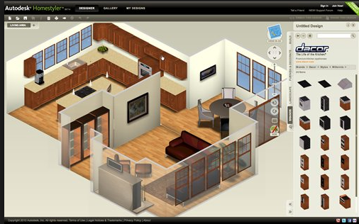 Autodesk s Homestyler interior design renderings. Comparing 5 of the Best 3D Interior Designing Software Apps