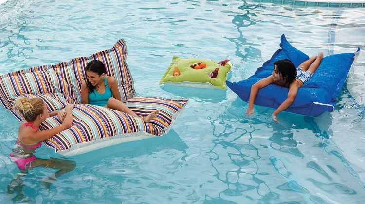Frontgate pool floats on Hadley Court