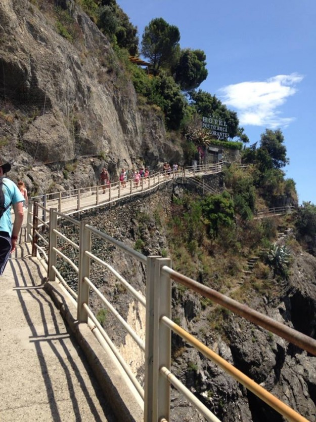 Monterosso walking trails