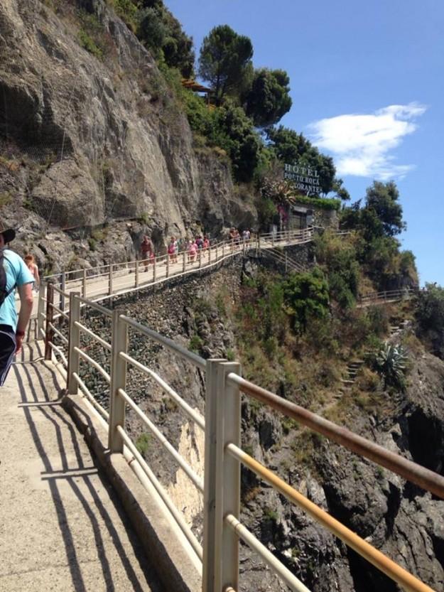 Monterosso walking trails