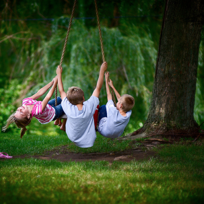 Swingsets + Summer: It's Time to Play!