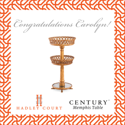 Celebrating The Winner of Our 1st Timeless Design Giveaway!