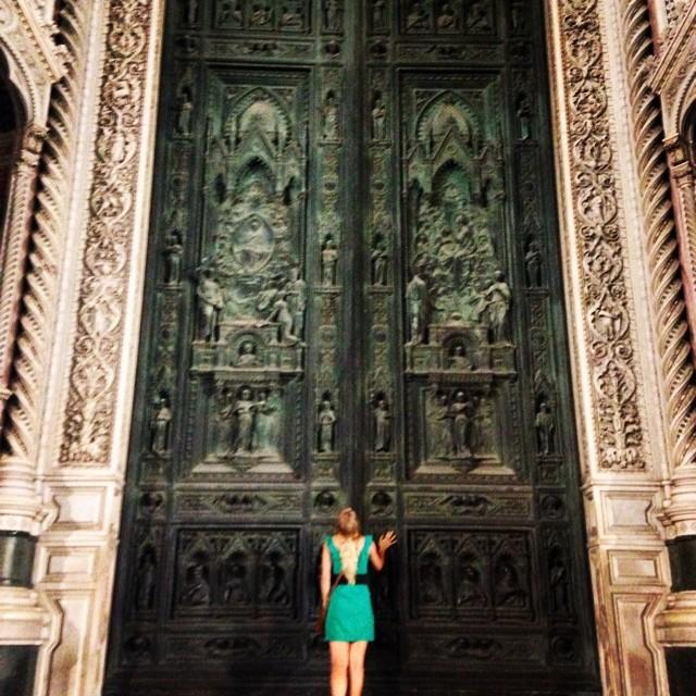 door with ashley