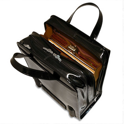 interior milano briefcase