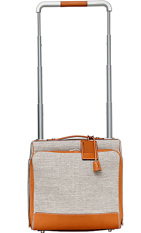 hermes rolling briefcase for women