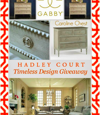 WIN Gabby Home's Sweet *CAROLINE* Chest This Week!