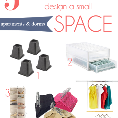 Small Space Design Tips for Apartments and Dorms