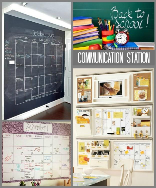 BTS ORGANIZING IDEAS - Communication Station ii Collage - Hadley Court Blog