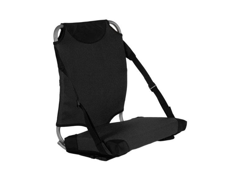 High back padded bleacher seat photo