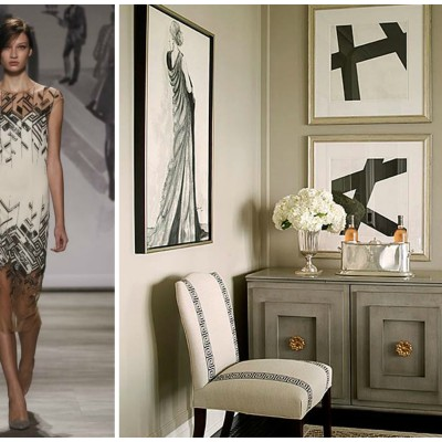 New York Fashion Week Trends Translated Into Timeless Interiors