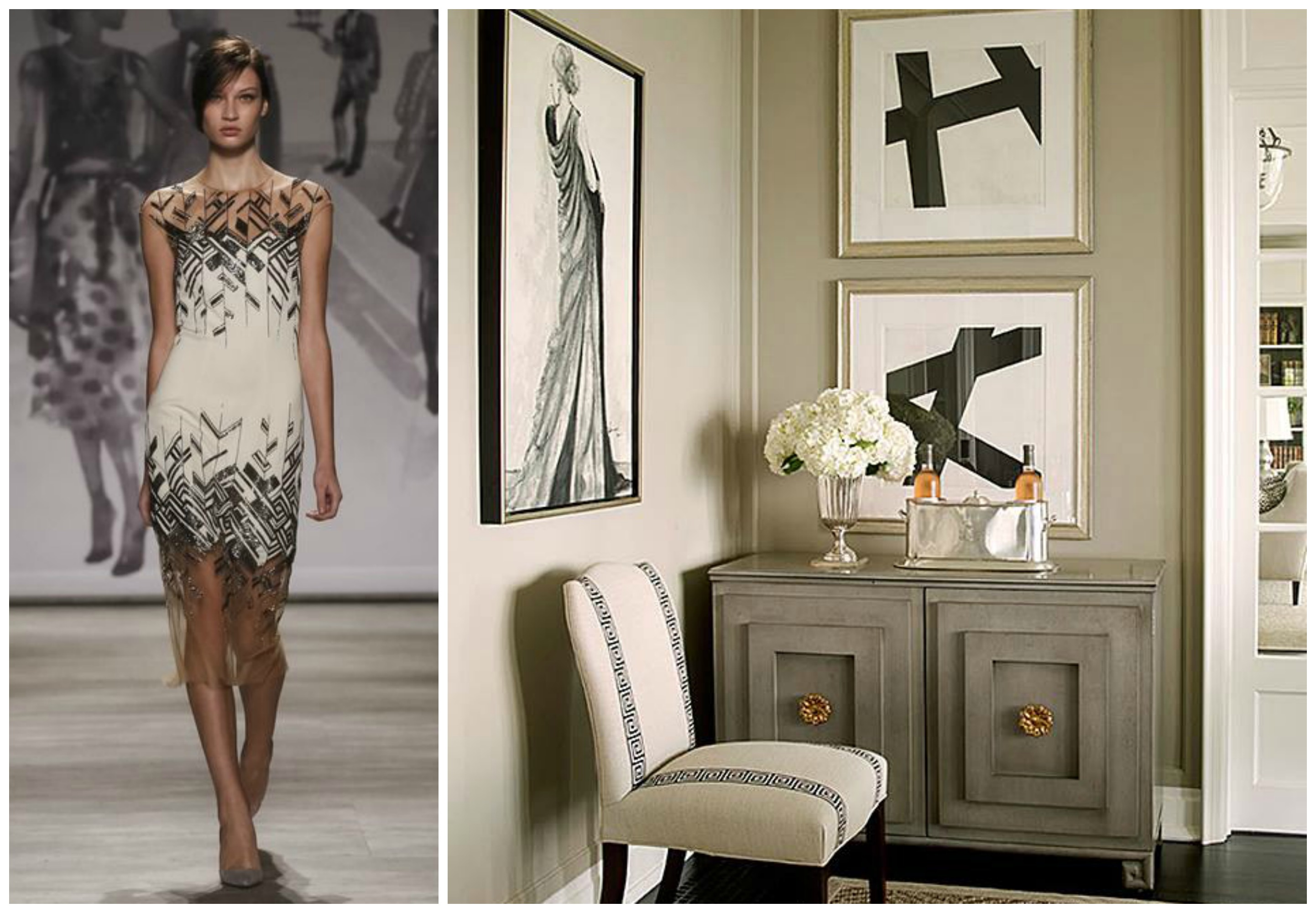 New york fashion week translated into timeless interiors for Latest trends in home decor 2015