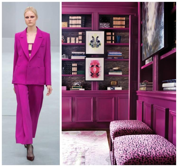 PANTONE COTY 2014 RADIANT ORCHID - Fashion & Decor Collage Lynda Quintero-Davids