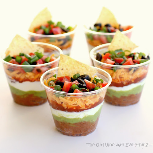 Tailgate - 7 layer Dip To go feature at Hadley Court Blog