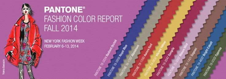 pantone color report - fall 2014