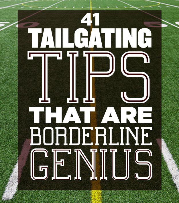 tailgaiting 101 tips