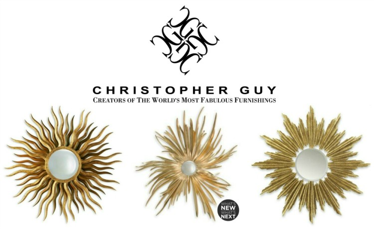 Christopher Guy Sunburst Mirrors