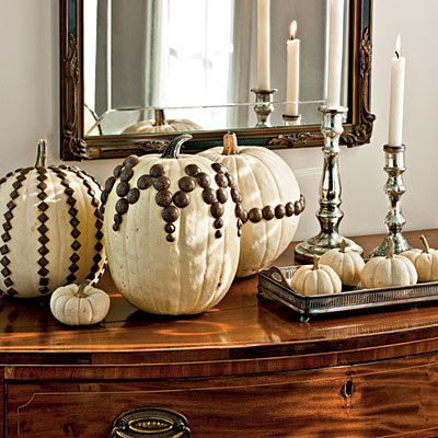 Fall Classic - Pumkins - in creamy harvest white