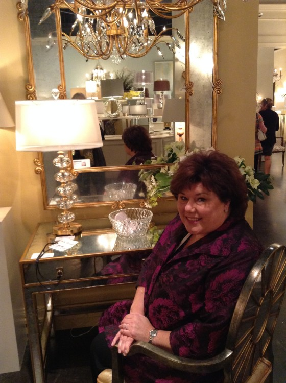 Photo of Leslie Wood at High Point Market