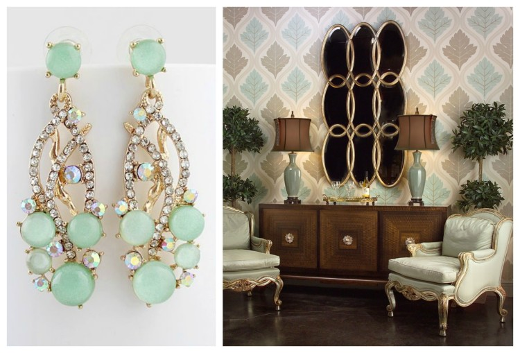 JEWLERY FOR THE ROOM II - F&D for John Richard - Hadley Court Blog - by Lynda Quintero-Davids