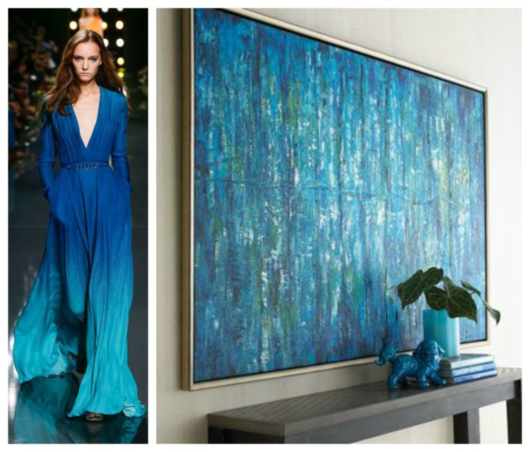John Richard - Ellie Saab - BLUES - F&D for John Richard - Hadley Court Blog - by Lynda Quintero-Davids