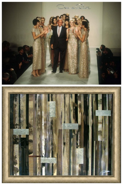 Picture Source Pairing - Oscar de la Renta 1996 - Black Gold Timelessness - Lynda Quintero-Davids for Hadley Court