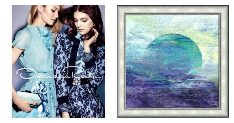 Picture Source Pairing - Oscar de la Renta - Blues Ad campaign - Lynda Quintero-Davids for Hadley Court