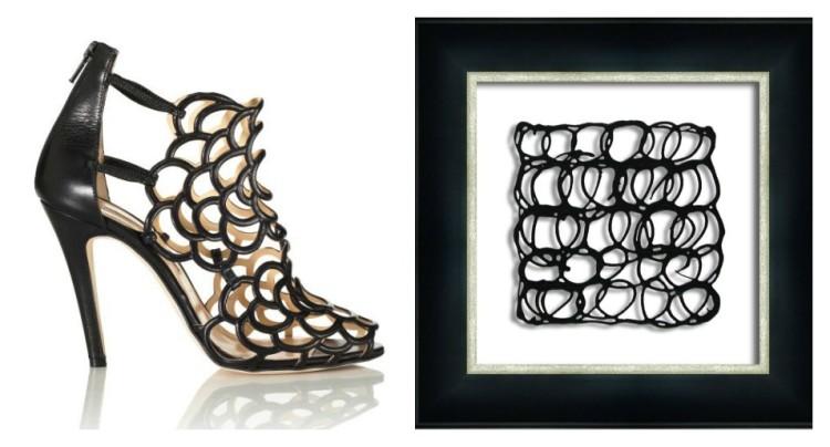 Picture Source Pairing - Oscar de la Renta - Gladia Shoe - Lynda Quintero-Davids for Hadley Court