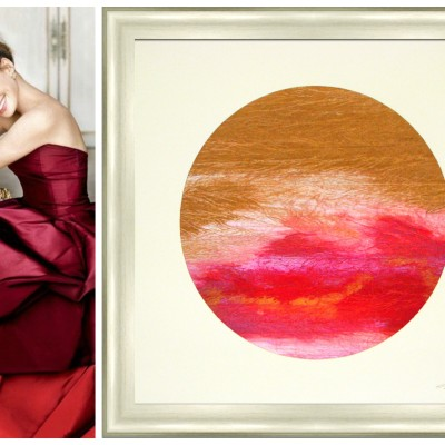 In Tribute: Picture Source Art Paired With Oscar de La Renta