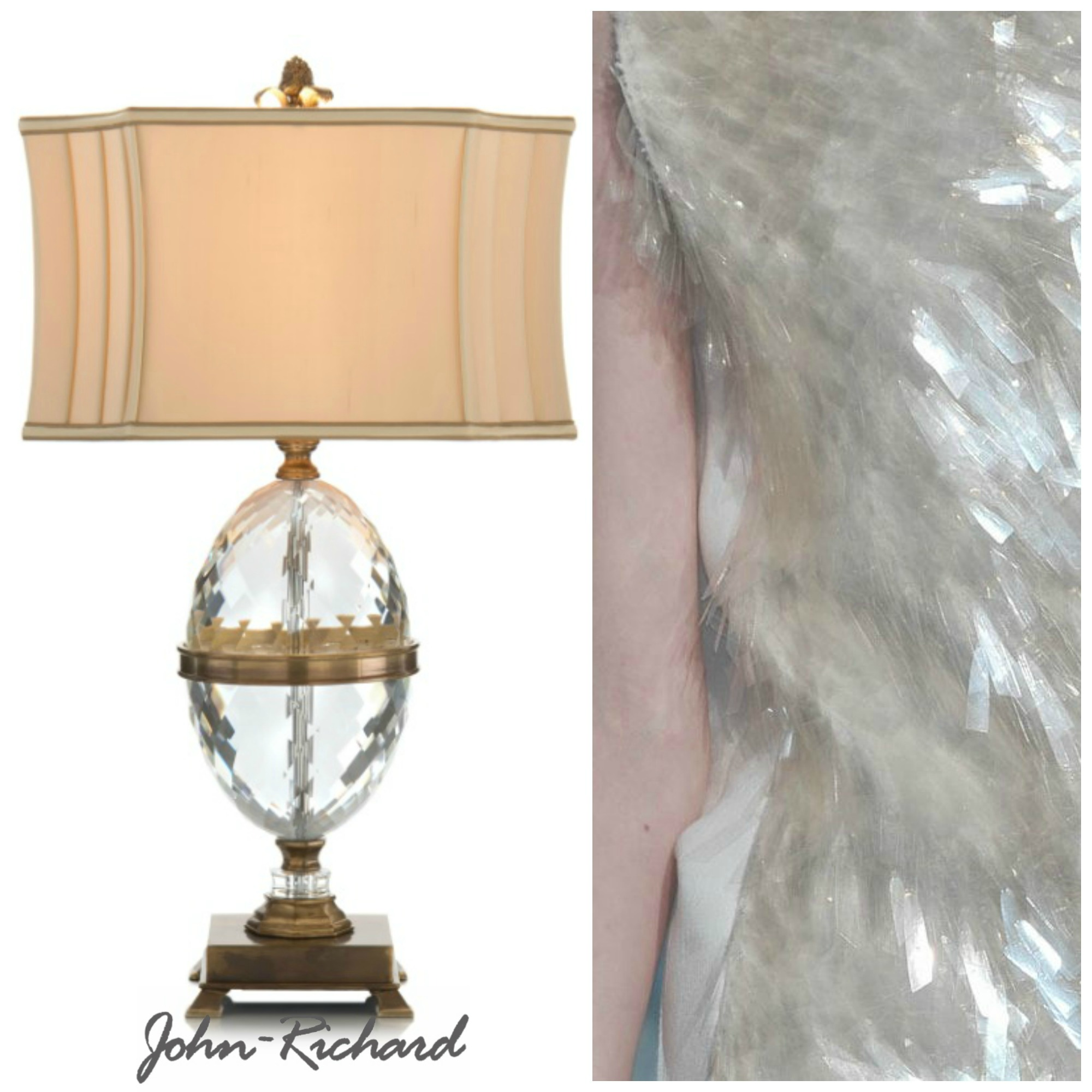 Lux lighting fashion the john richard collection john richard collection table lamp geotapseo Image collections