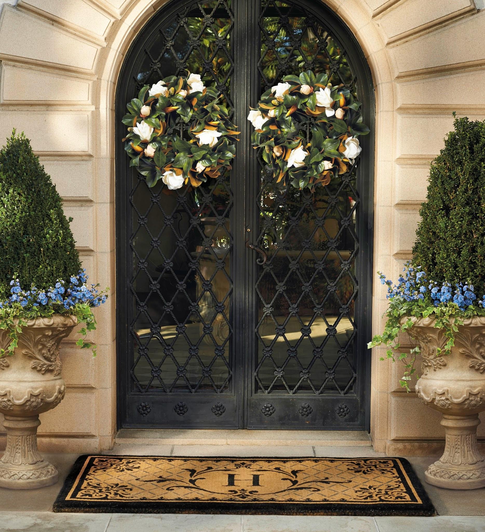 Thanksgiving front door decorations - Thanksgiving Front Door Decorations 21
