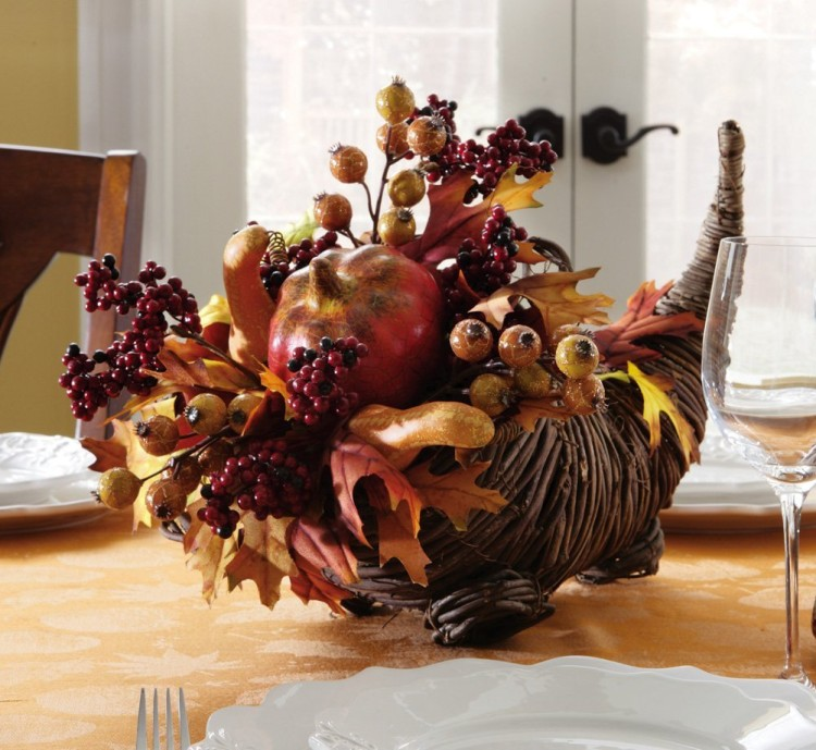 Dining Table Decorations Centerpieces A Cornucopia Of Abundance Part 89
