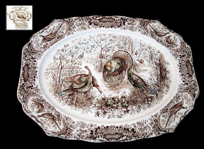 Johnson Brothers Thanksgiving Turkey Platter