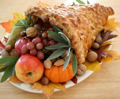 Thanksgiving Cornucopias
