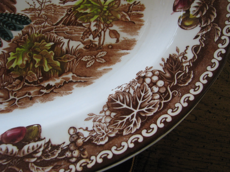 Thanksgiving platter design