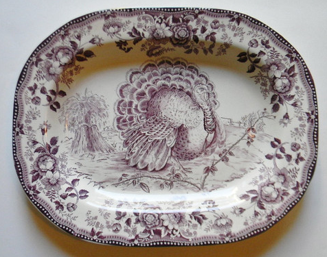 Purple Turkey Platter