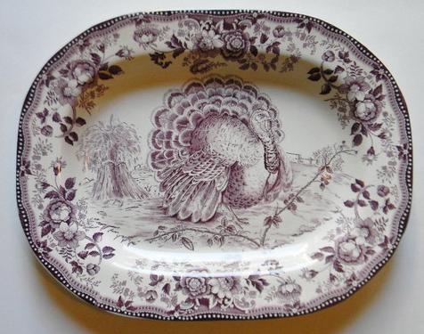 Purple Thanksgiving Platter