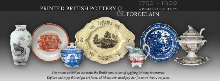 Printed British Pottery and Porcelain