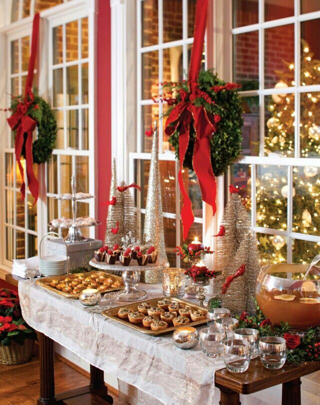 Our Favorite Holiday Desserts : Christmas Dessert Table from hadleycourt.com size 640 x 810 jpeg 117kB