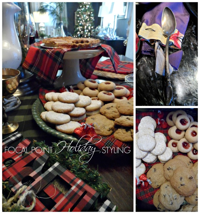 Focal Point Styling - Christmas Cookies