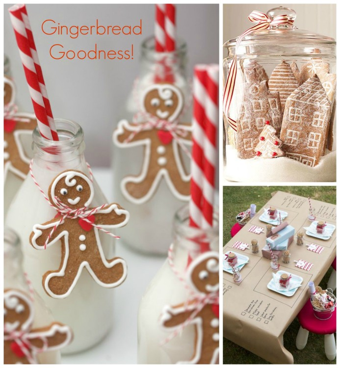 Gingerbread Goodness Collage