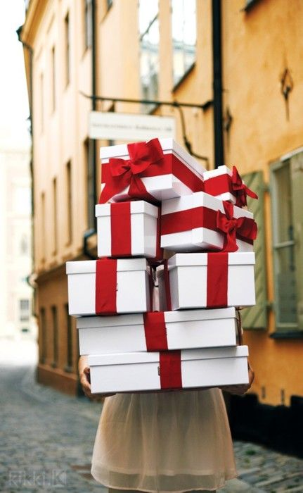 Christmas Box - Gift wrapping ideas