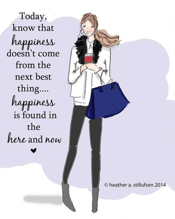 Inspirational quote for the new year - Heather A. Stillufsen